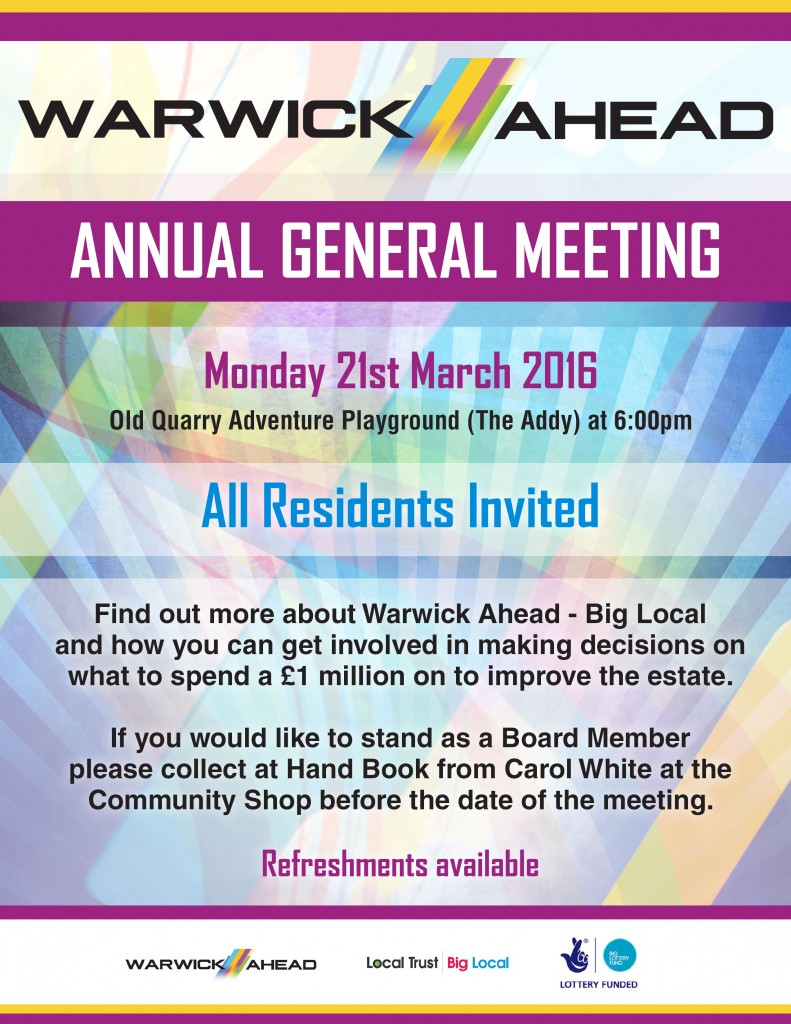 AGM Poster March 2016